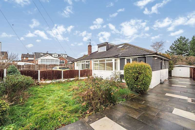 2 Bedrooms Semi Detached Bungalow for sale in Thompson Close, Denton, Manchester, Greater Manchester, M34