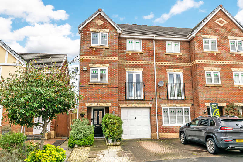 3 Bedrooms Town House for sale in Ludlow Close, Padgate, Warrington