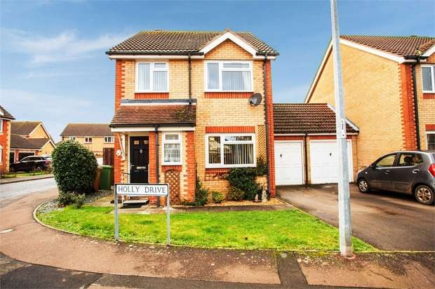 3 Bedrooms Detached House for sale in Holly Drive, Doddington, March, Cambridgeshire