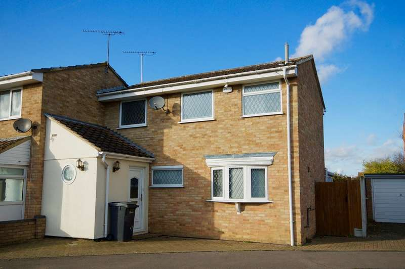 3 Bedrooms Semi Detached House for sale in Crocus Way, Springfield, Chelmsford, CM1