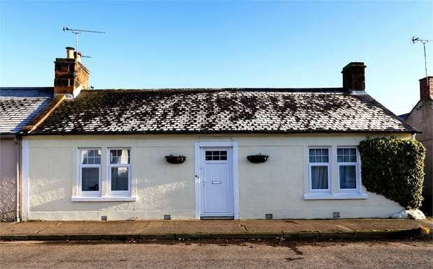 3 Bedrooms Terraced Bungalow for sale in Queen Street, Lochmaben, Lockerbie, Dumfries and Galloway