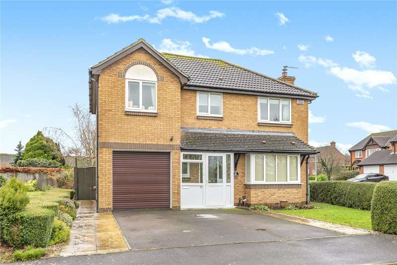 4 Bedrooms Detached House for sale in Old Station Gardens, Henstridge, Templecombe, Somerset, BA8