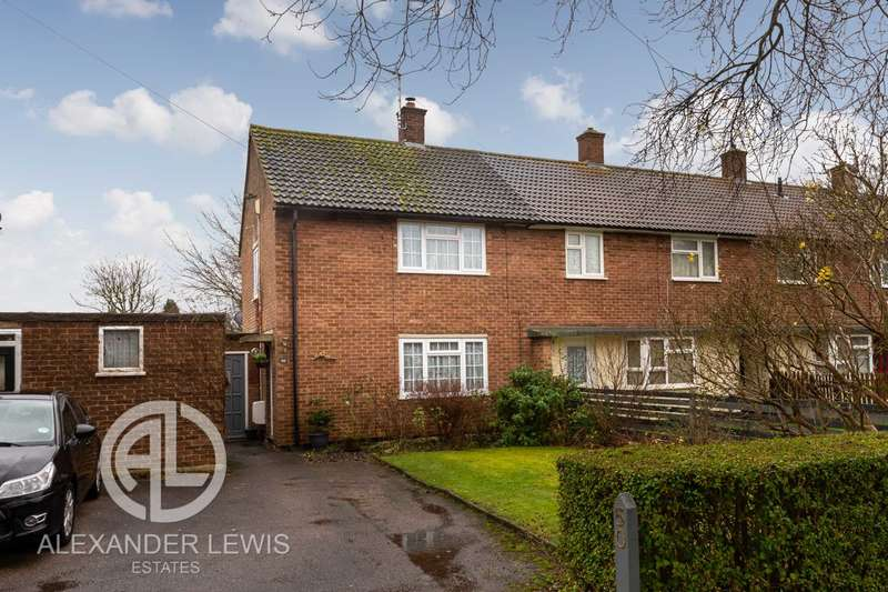 2 Bedrooms End Of Terrace House for sale in Ordelmere, Letchworth Garden City, SG6 4QR