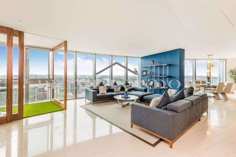 3 Bedrooms Property for sale in The Tower, One St George Wharf, Vauxhall