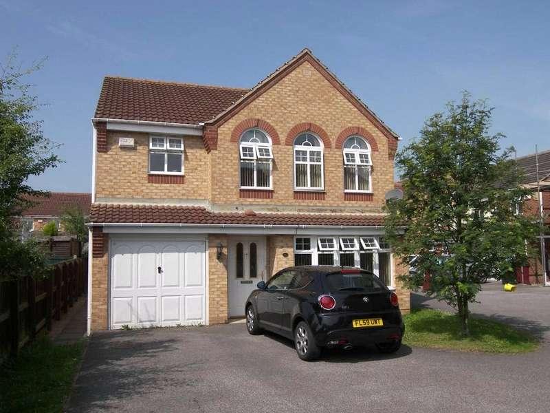 4 Bedrooms Detached House for sale in Orchard Court, South Normanton, Alfreton, Derbyshire, DE55
