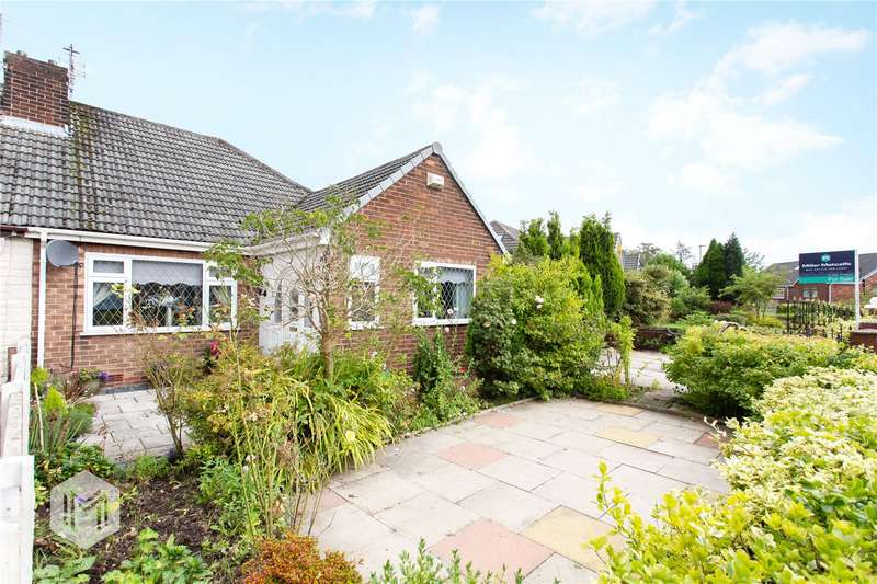 2 Bedrooms Semi Detached Bungalow for sale in Woodland Avenue, Hindley Green, Wigan, Greater Manchester, WN2