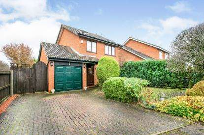3 Bedrooms Detached House for sale in Thurne Way, Bedford, Bedfordshire