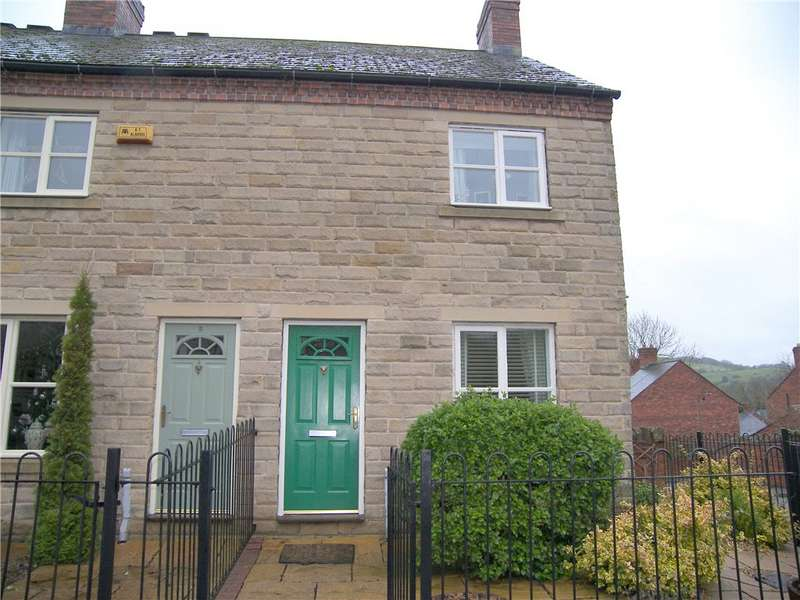 2 Bedrooms End Of Terrace House for sale in Spring Close, Wirksworth, Matlock, Derbyshire, DE4