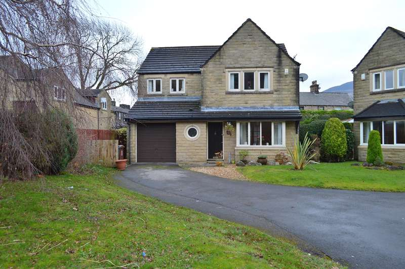 4 Bedrooms Detached House for sale in Lower Frenches Drive, Greenfield, Oldham, OL3 7JD