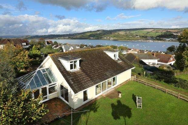 4 Bedrooms Detached House for sale in Platway Lane, Shaldon, Devon