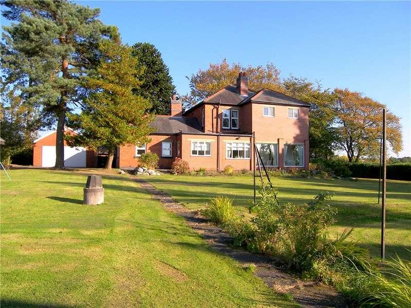 5 Bedrooms Detached House for sale in Sleetmoor Lane, Somercotes, Alfreton, Derbyshire, DE55