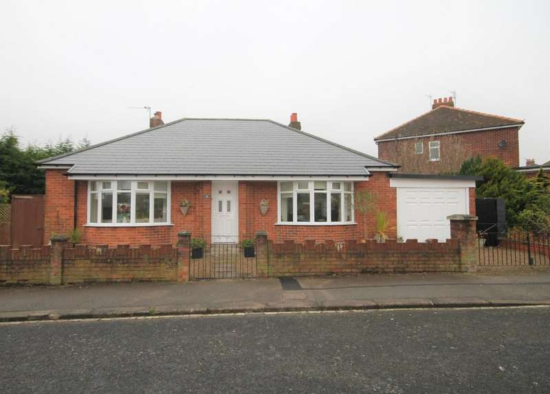 2 Bedrooms Detached Bungalow for sale in Diamond Street, Shildon