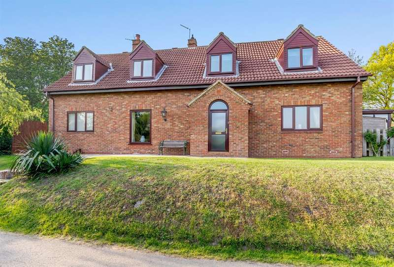 4 Bedrooms Detached House for sale in Wharfe Bank, Tadcaster, North Yorkshire, LS24 9AY