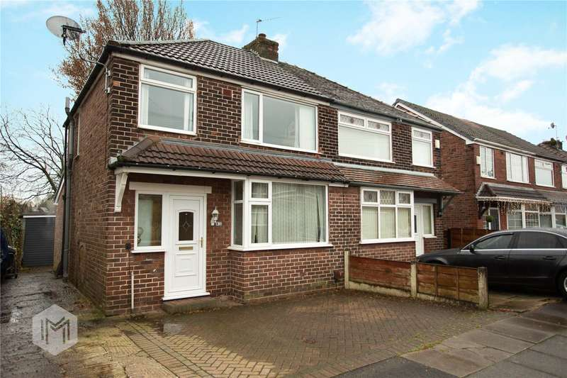 3 Bedrooms Semi Detached House for sale in Brecon Drive, Bury, Greater Manchester, BL9
