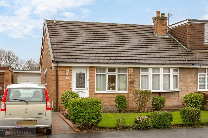 3 Bedrooms Semi Detached Bungalow for sale in Melverley Drive, Leigh, Greater Manchester. WN7 2HZ
