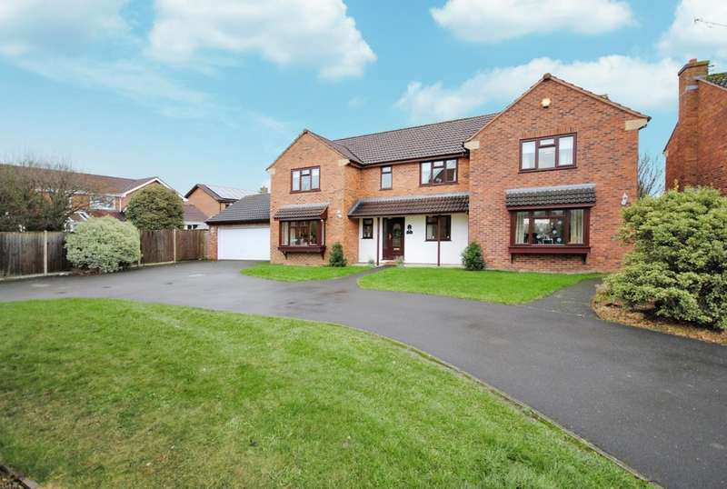 6 Bedrooms Detached House for sale in Springfield Close, Cheddar