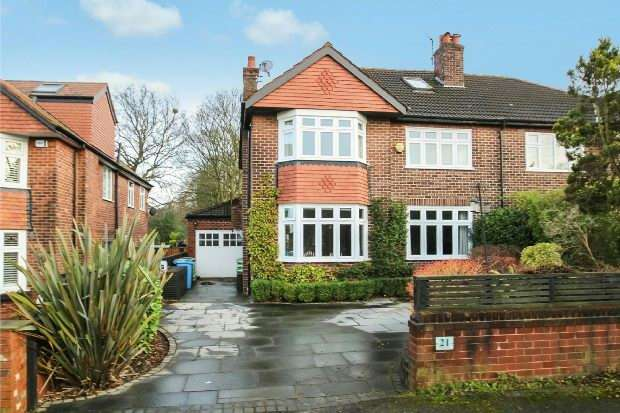 4 Bedrooms Semi Detached House for sale in Chiltern Drive, Hale
