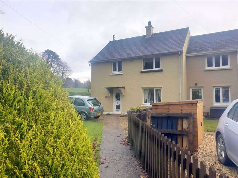 3 Bedrooms End Of Terrace House for sale in New Moat, Clarbeston Road, Pembrokeshire