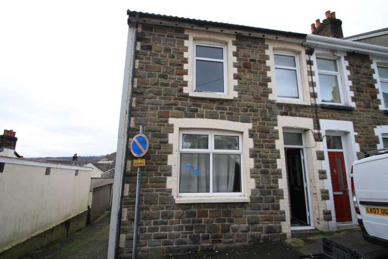3 Bedrooms End Of Terrace House for sale in Richmond Road, Six Bells, Abertillery, NP13