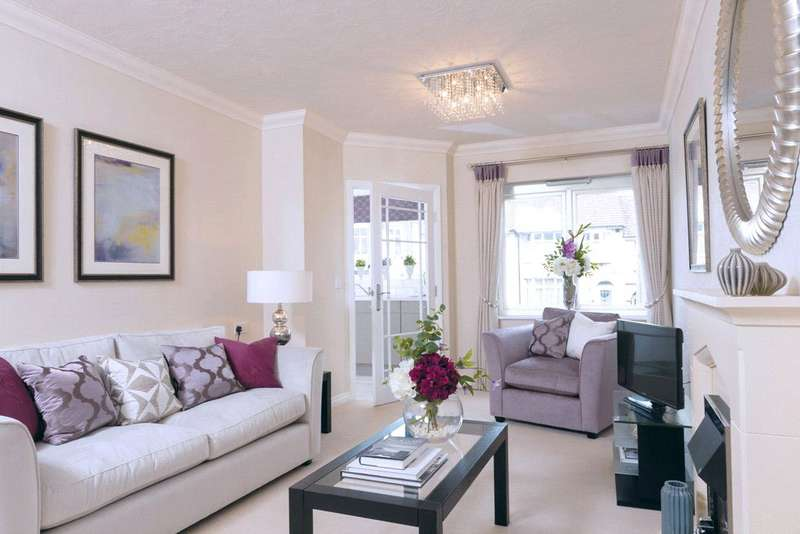 2 Bedrooms Retirement Property for sale in Headley Lodge, Leatherhead Road, Ashtead, Surrey, KT21