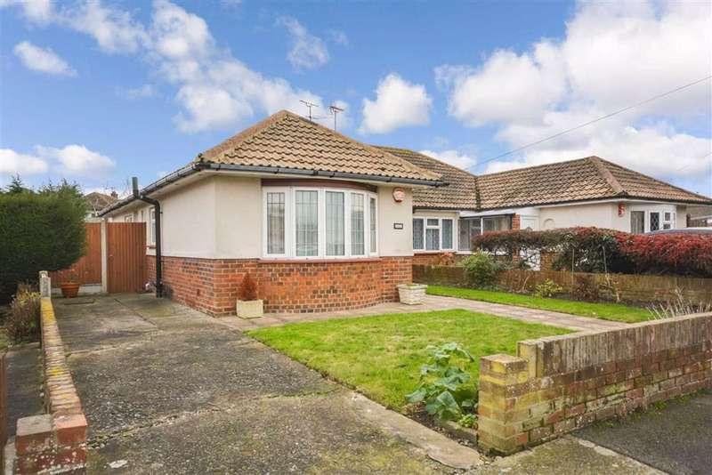 2 Bedrooms Semi Detached Bungalow for sale in Warren Drive, Broadstairs, Kent