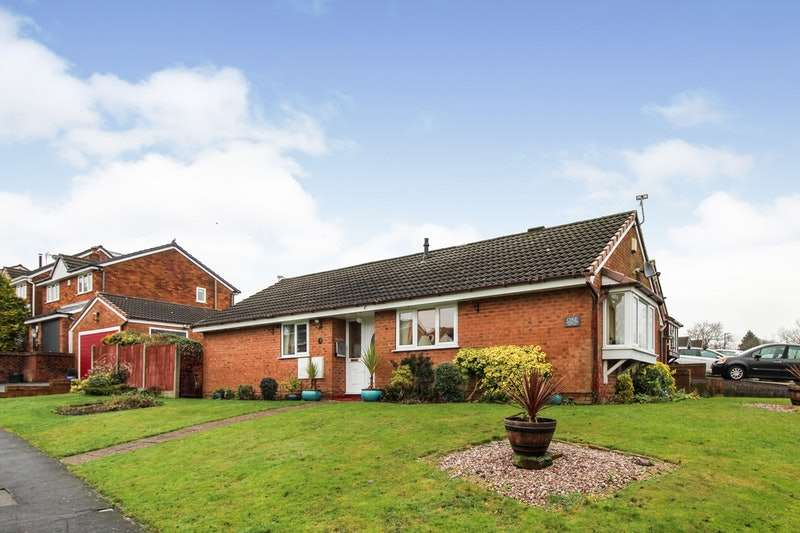 3 Bedrooms Bungalow for sale in Restormel Avenue, Wigan, Greater Manchester, WN2