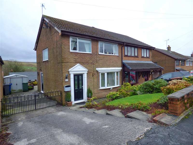 3 Bedrooms Semi Detached House for sale in Ramsey Avenue, Bacup, Lancashire, OL13