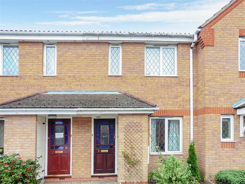 2 Bedrooms Terraced House for sale in Daffodil Drive, Rushden, Northants