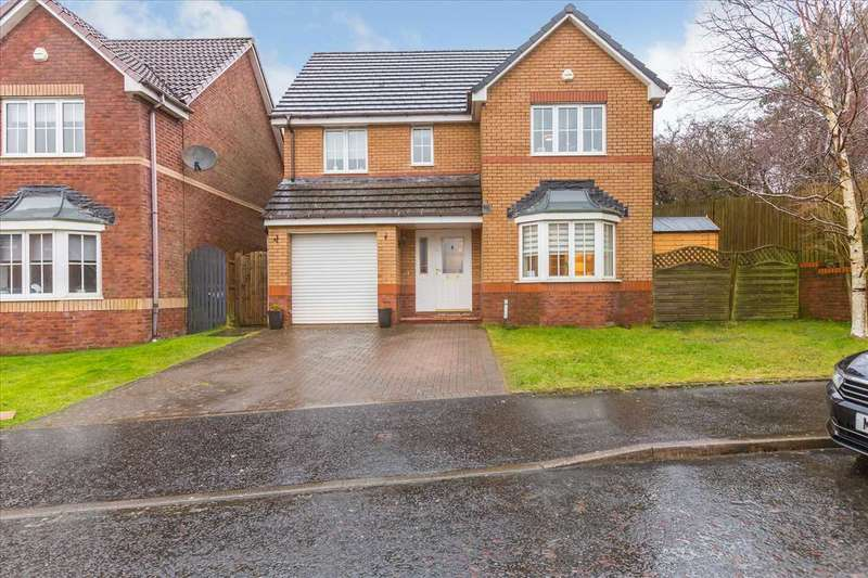 4 Bedrooms Detached House for sale in Strathrannoch Way, Hairmyres, EAST KILBRIDE