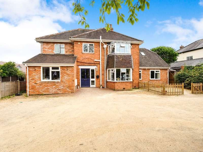 4 Bedrooms Detached House for sale in Geraldine Road, Malvern, Worcestershire, WR14