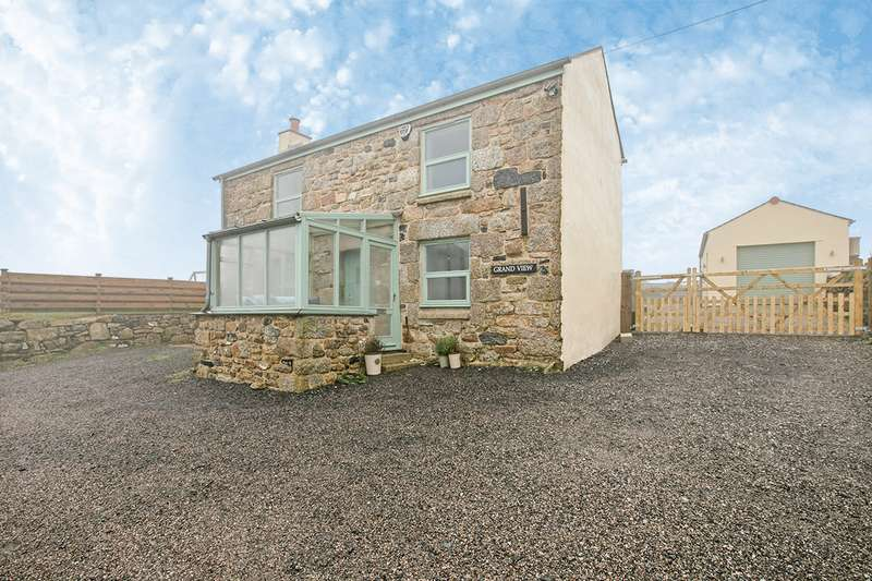 4 Bedrooms Detached House for sale in Wheal Buller, Redruth, Cornwall, TR16