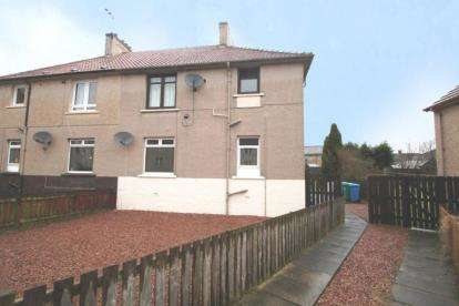 2 Bedrooms Flat for sale in Dundonald Park, Cardenden