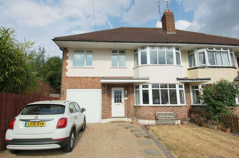 4 Bedrooms Semi Detached House for sale in Lower Sunbury