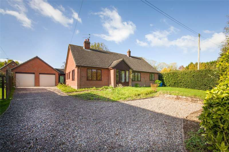 3 Bedrooms Detached Bungalow for sale in Acton Green, Acton Beauchamp, Worcester, WR6