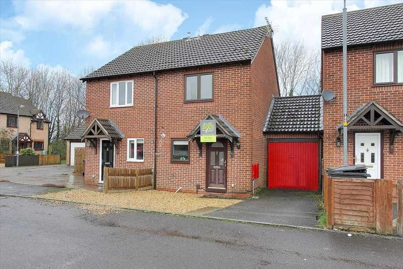 2 Bedrooms Semi Detached House for sale in Lady Jane Walk, Ludgershall