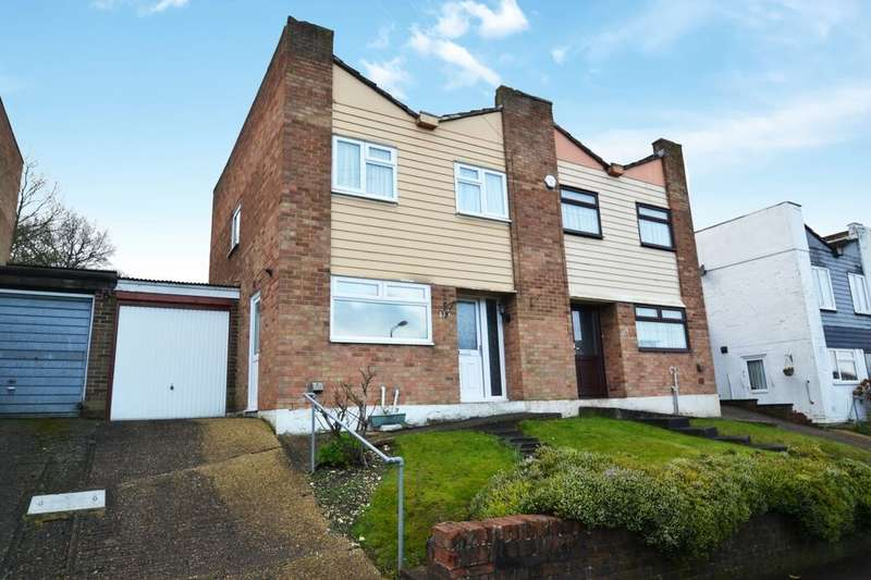 3 Bedrooms Semi Detached House for sale in Harptree Drive, Walderslade, Chatham, ME5