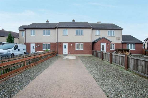 2 Bedrooms Terraced House for sale in Bro Ednyfed, Llangefni, Anglesey
