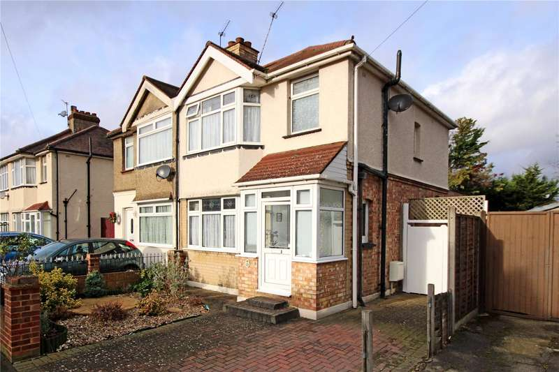 3 Bedrooms Semi Detached House for sale in Craigwell Avenue, Feltham, TW13