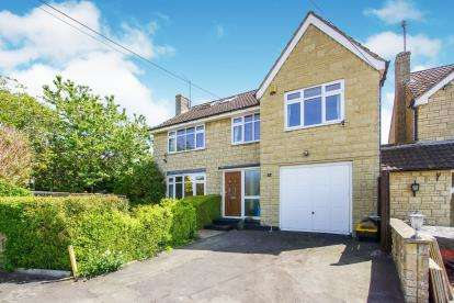5 Bedrooms Detached House for sale in Westend, Dursley, Gloucestershire