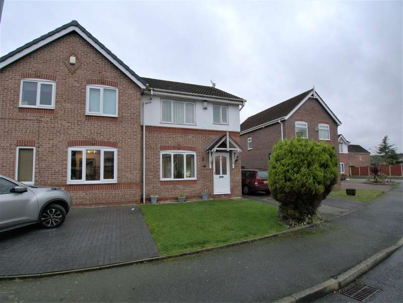 3 Bedrooms Semi Detached House for sale in Brambling Park, Halewood, Liverpool L26