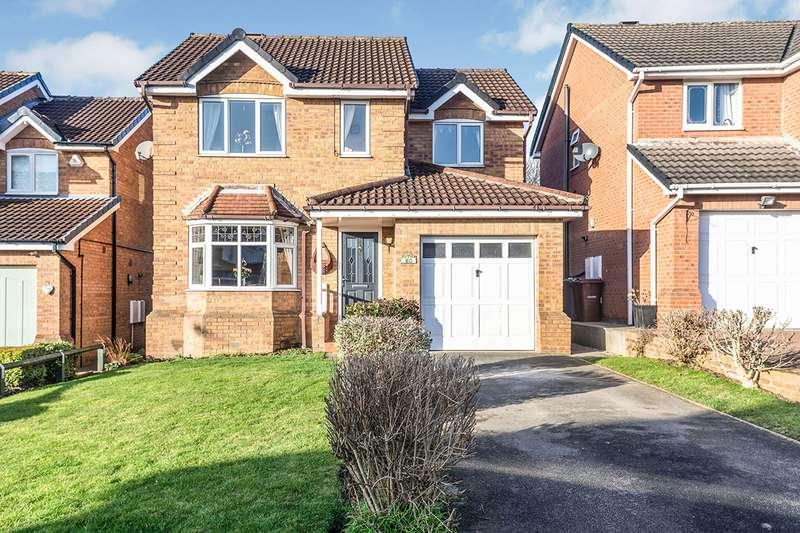 4 Bedrooms Detached House for sale in Brindle Park Drive, Glasshoughton, Castleford, West Yorkshire, WF10
