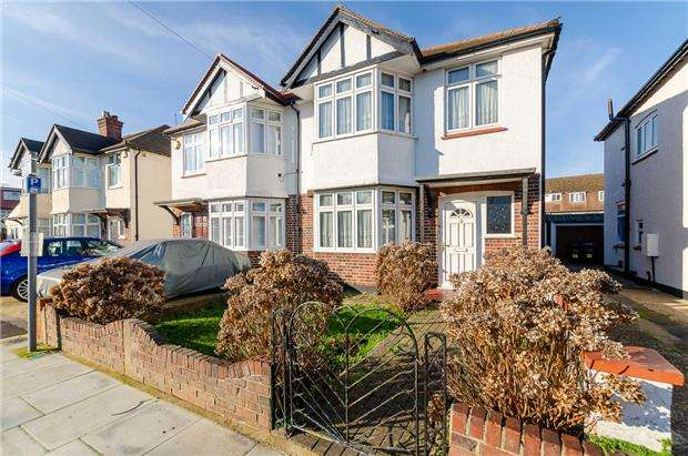 3 Bedrooms End Of Terrace House for sale in Willows Avenue, MORDEN, Surrey, SM4 5SG