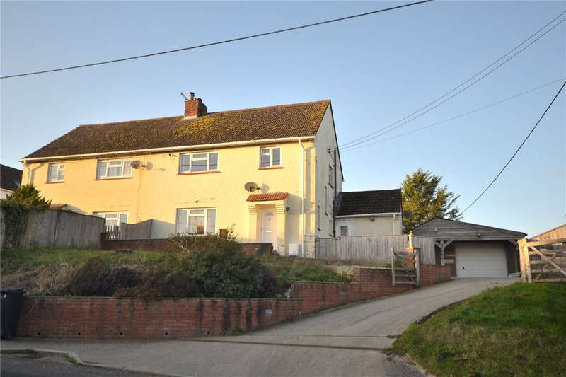 4 Bedrooms Semi Detached House for sale in Hillside, Manston, Sturminster Newton, Dorset, DT10