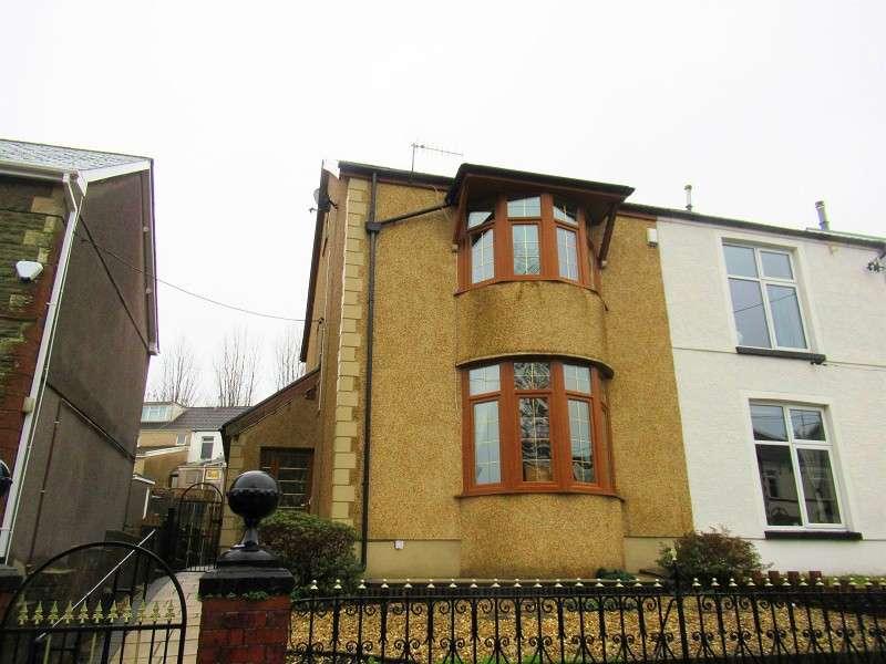 3 Bedrooms Semi Detached House for sale in Brynmawr Place, Maesteg, Bridgend. CF34 9PB