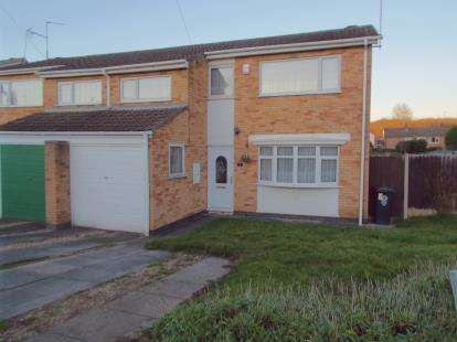 3 Bedrooms Semi Detached House for sale in Wylam Close, Leicester, Leicestershire