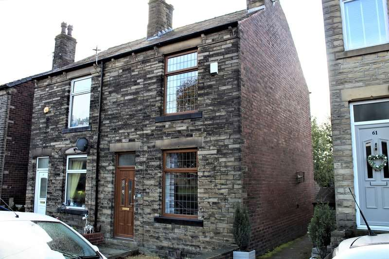 2 Bedrooms Semi Detached House for sale in Greenside Road, Mirfield, West Yorkshire, WF14