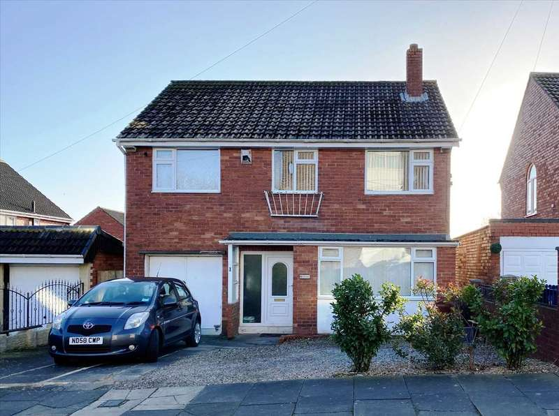 4 Bedrooms Detached House for sale in Woodlands, Newcastle upon Tyne