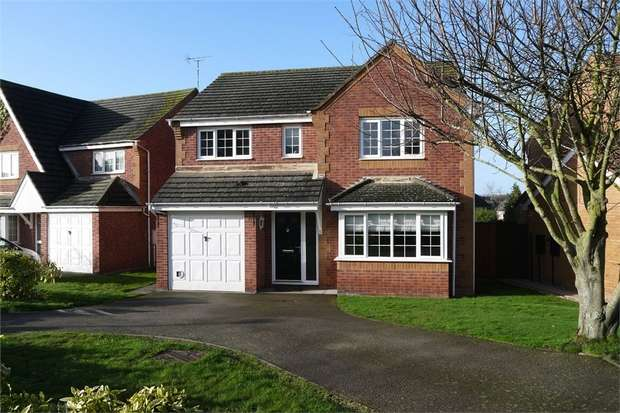 4 Bedrooms Detached House for sale in Long Brimley Close, Market Harborough, Leicestershire
