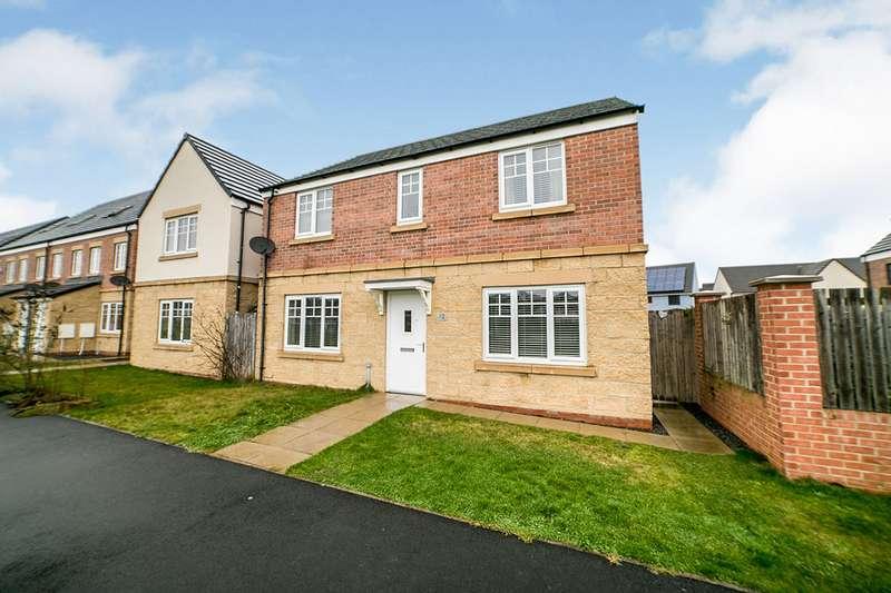 4 Bedrooms Detached House for sale in Klondyke Walk, Blaydon-on-Tyne, NE21
