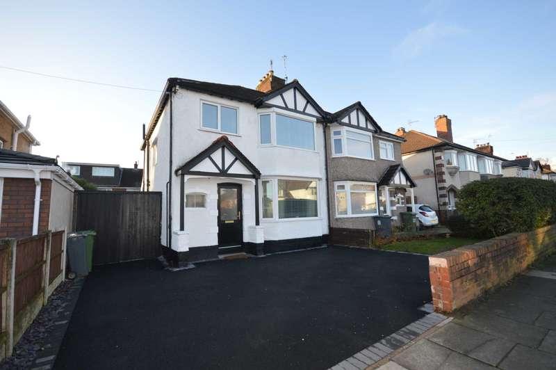 3 Bedrooms Semi Detached House for sale in Beechway, Bebington